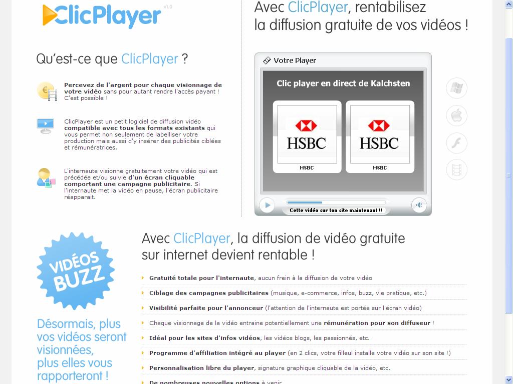 clic player
