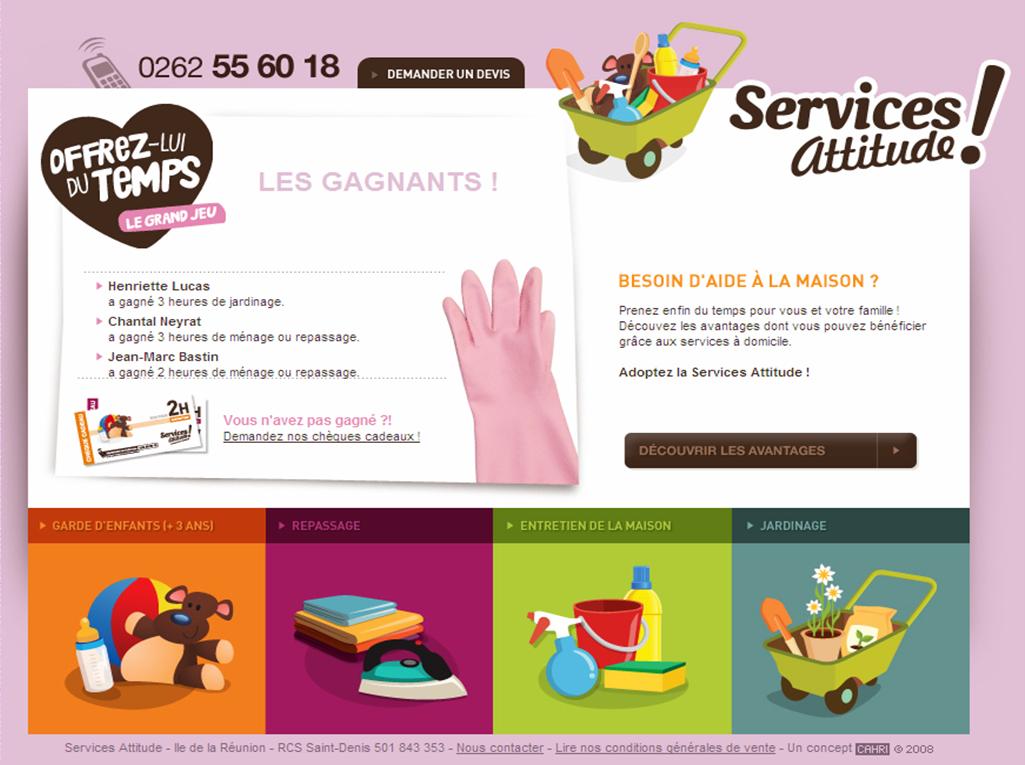 services attitudes