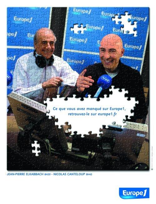 campagne pub europe 1 2008