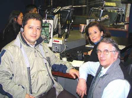 Herbin Hoyos, Yolanda Betancourt Radio Caracol