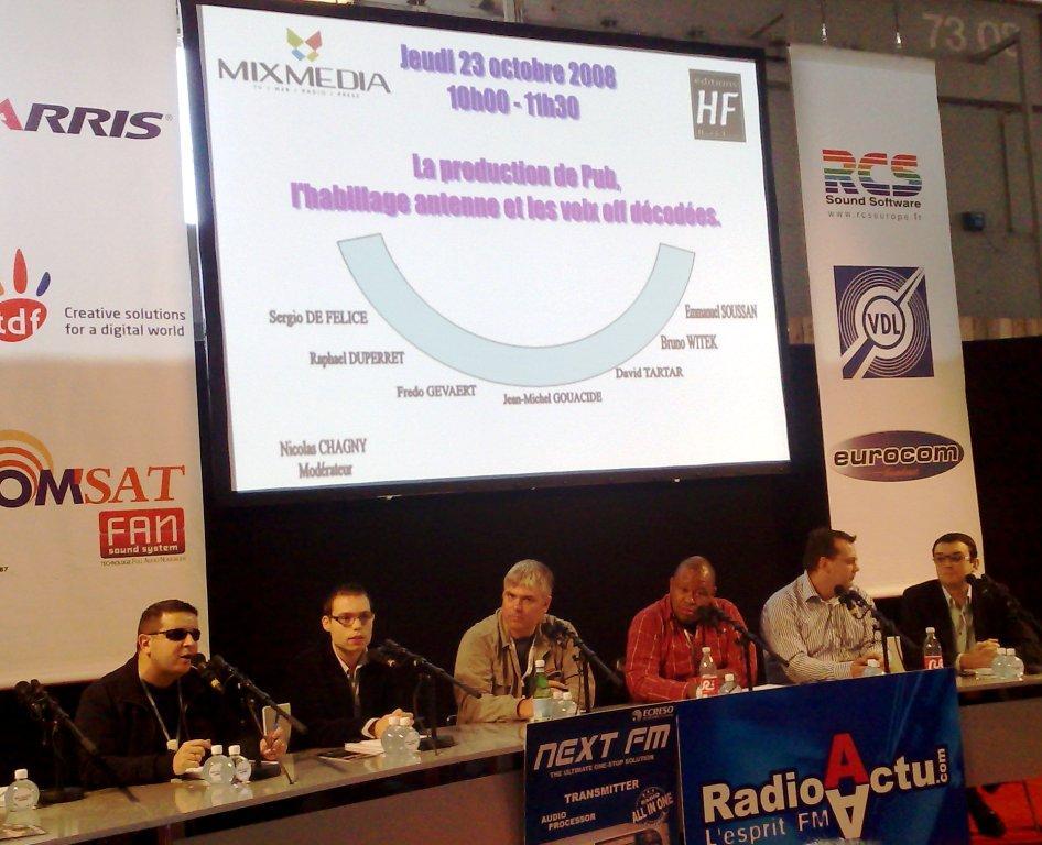 Le Radio 2008 habillage et spots pub