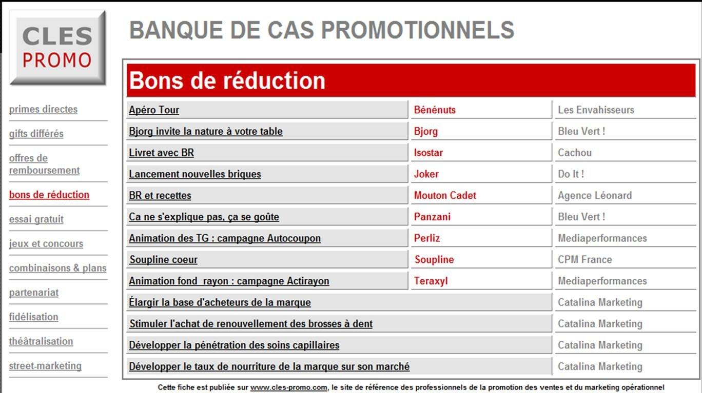 Bons de reduction radiopub le blog de michel colin - Vente unique bon de reduction ...