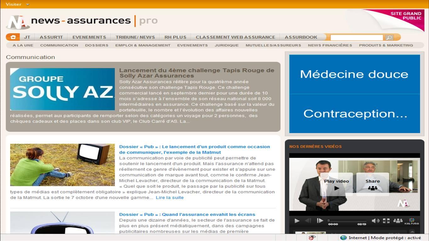 Assurances news pro