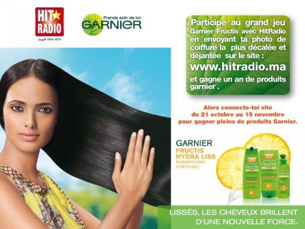 concours Garnier Hit Radio
